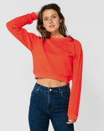 Mykonos Cropped Watermelon Jumper