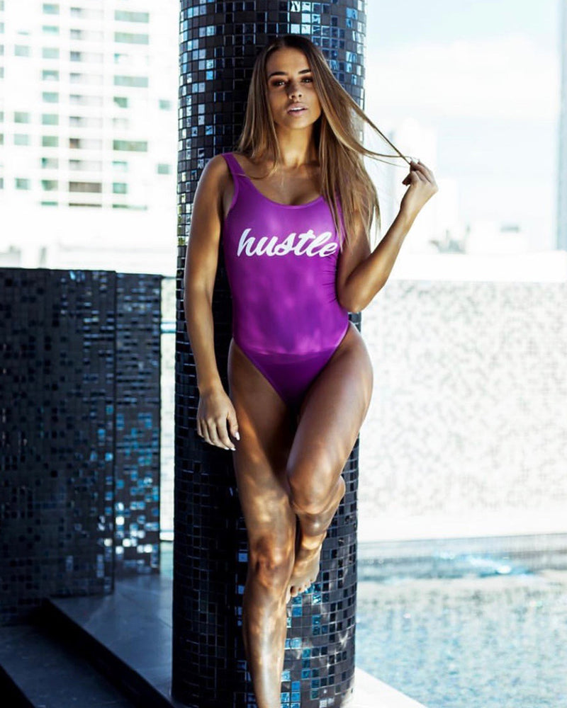 Hustle Purple Swimsuit