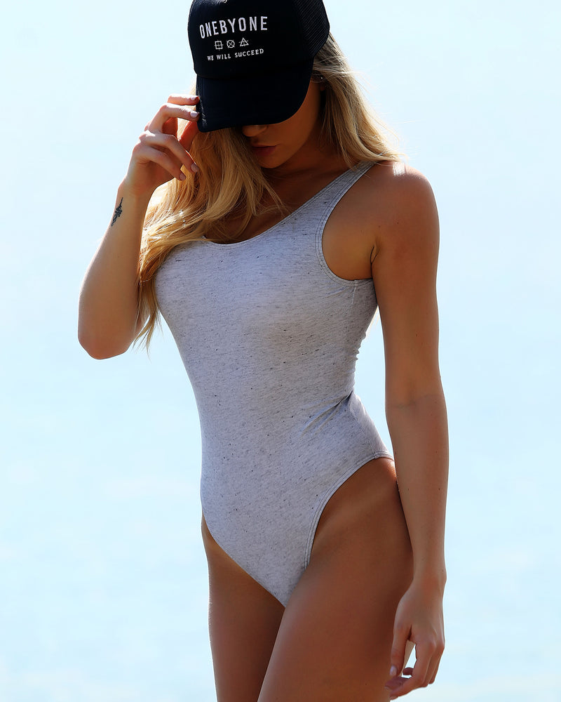 Blank Marble Grey Swimsuit