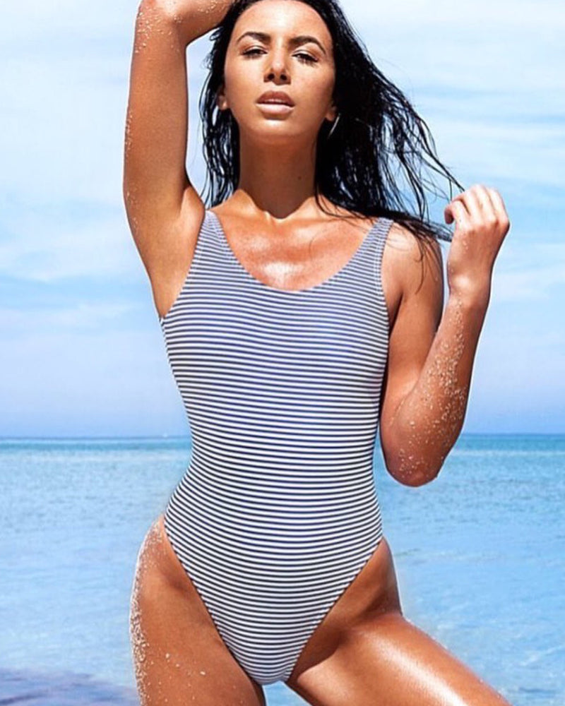 Nautical Blue Swimsuit