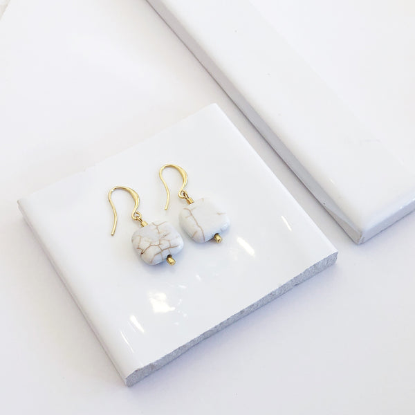 Pippi Gold Drop Earrings