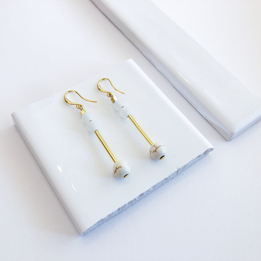 Burleigh Gold Earrings