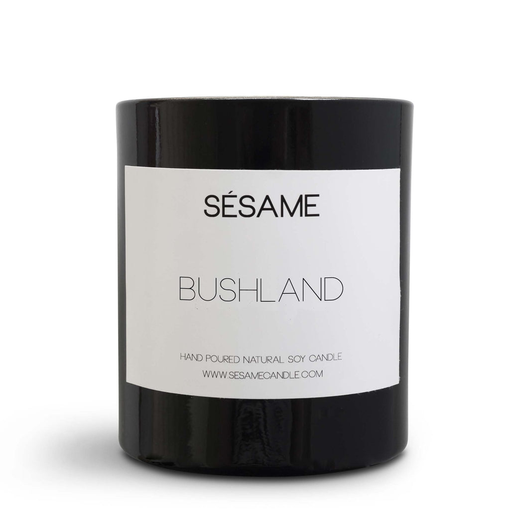 sesame candles - bushland scented candle
