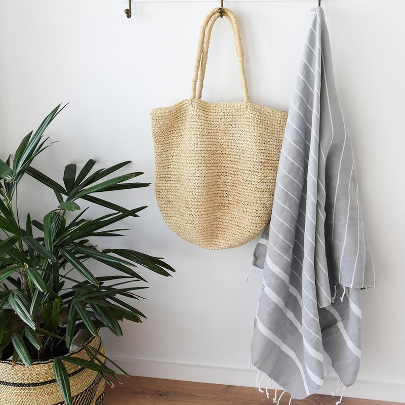 Collective Sol - Bondi Turkish towel in classic grey