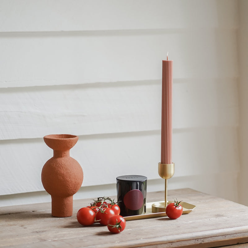Column Pillar Candle - Peach