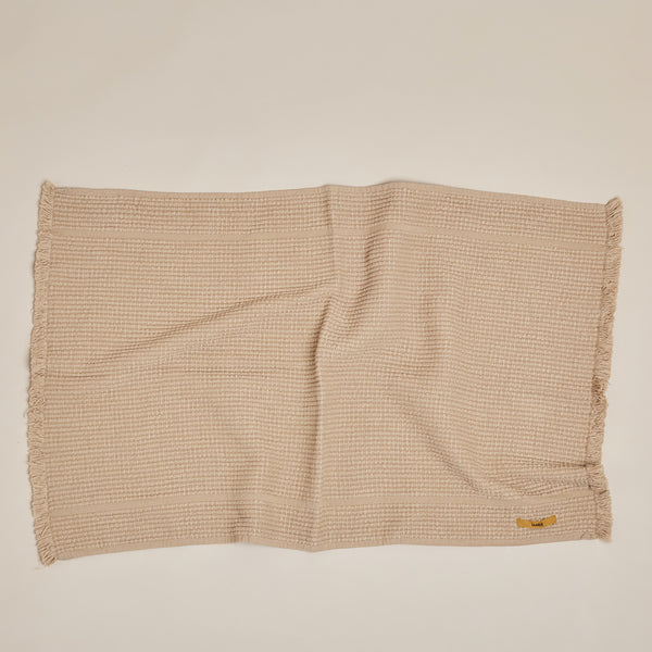 Vintage Wash Bath Mat - Nutmeg