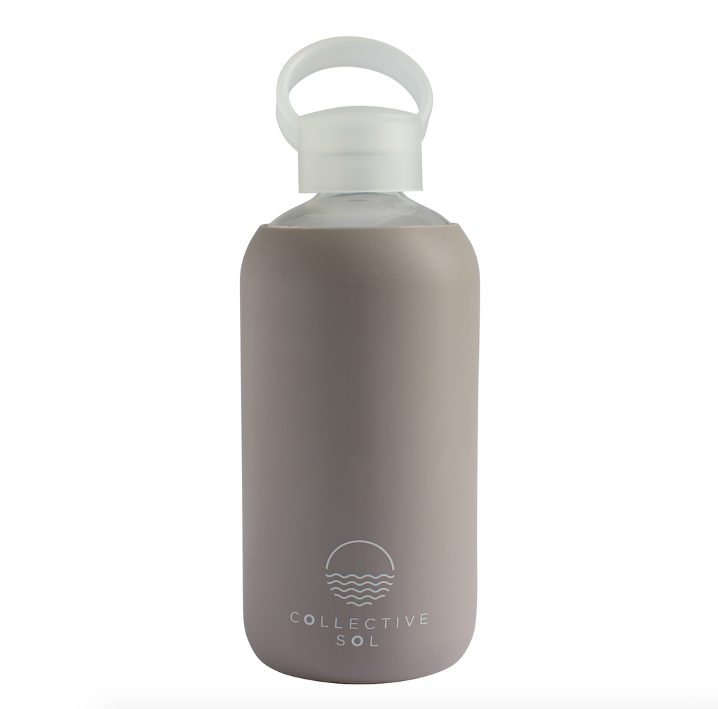 Acqua Glass Water Bottle - Grey