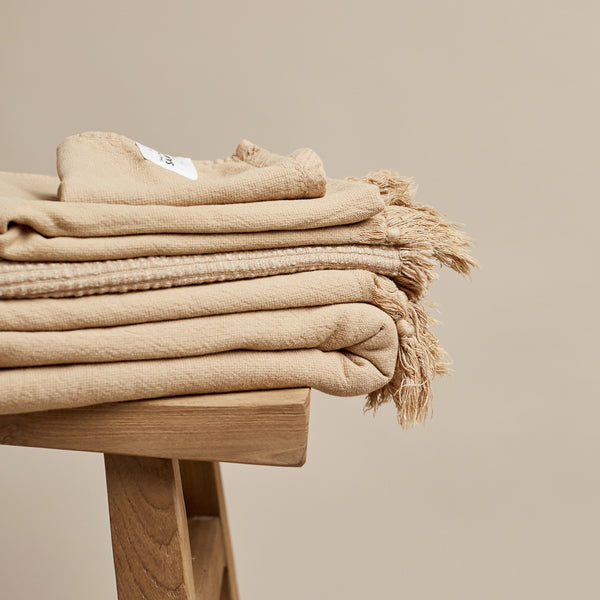Vintage Wash Towel - Nutmeg