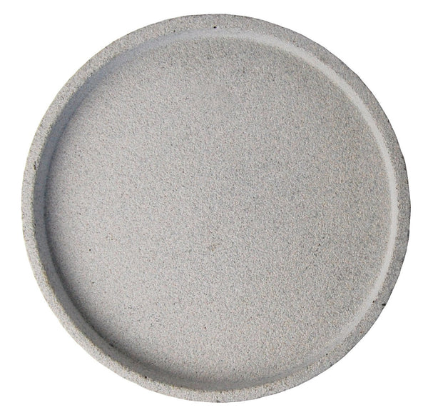 Round Concrete Tray - Natural