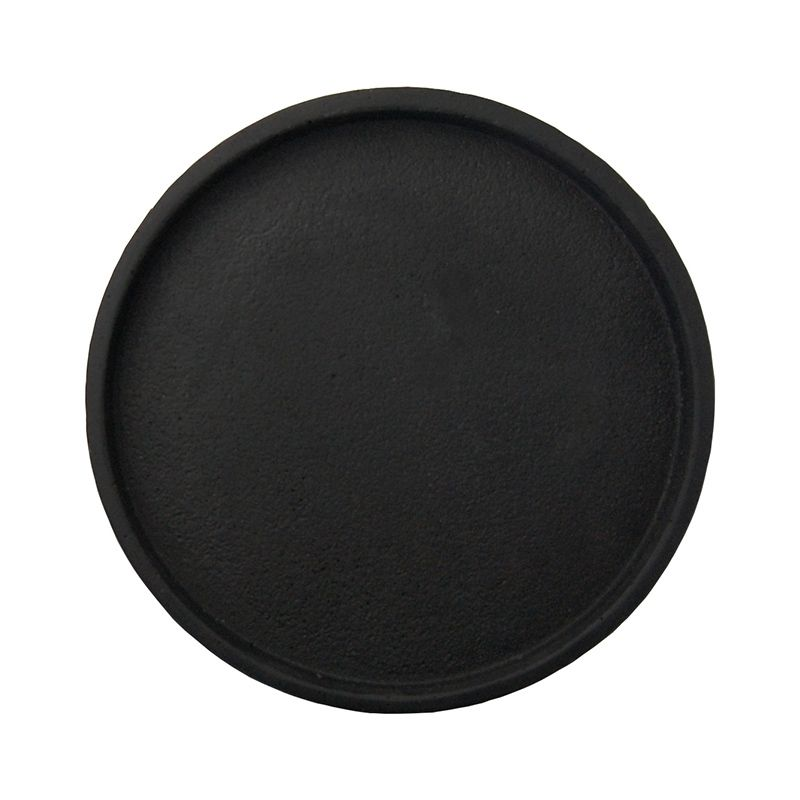 Round Concrete Tray - Black