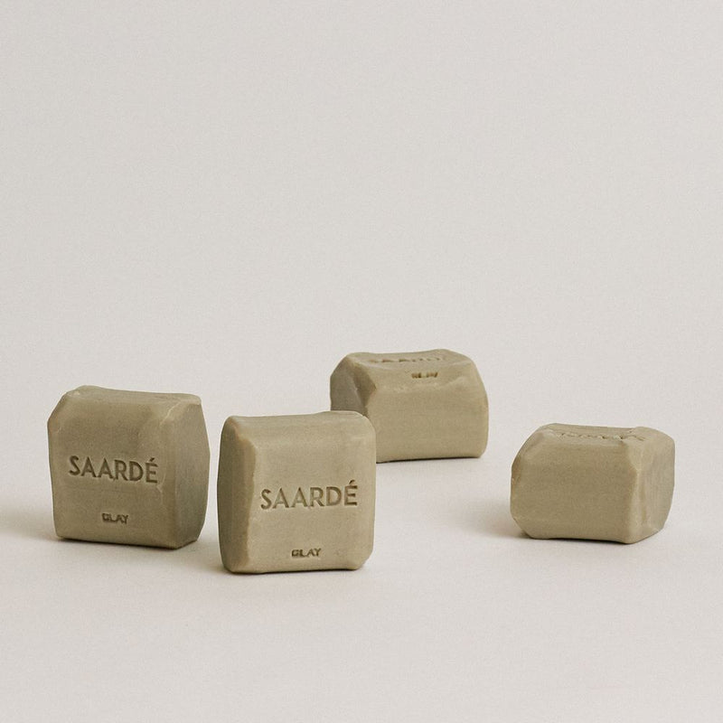 Natural Olive Oil Soap Stone - Clay