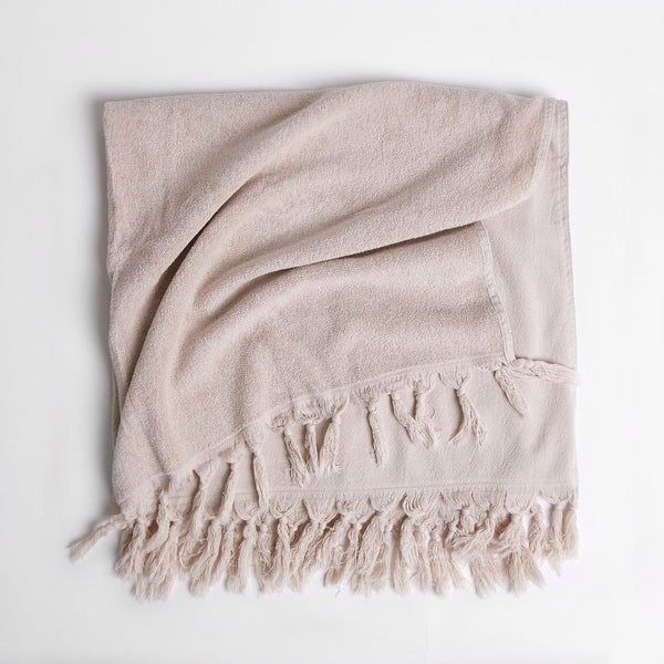 Vintage Wash Towel - Clay