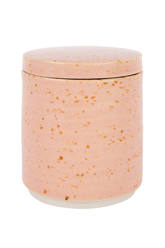 Zakkia Homewares - Speckle canister in pink