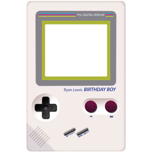 Retro Handheld Games Console Selfie Frame