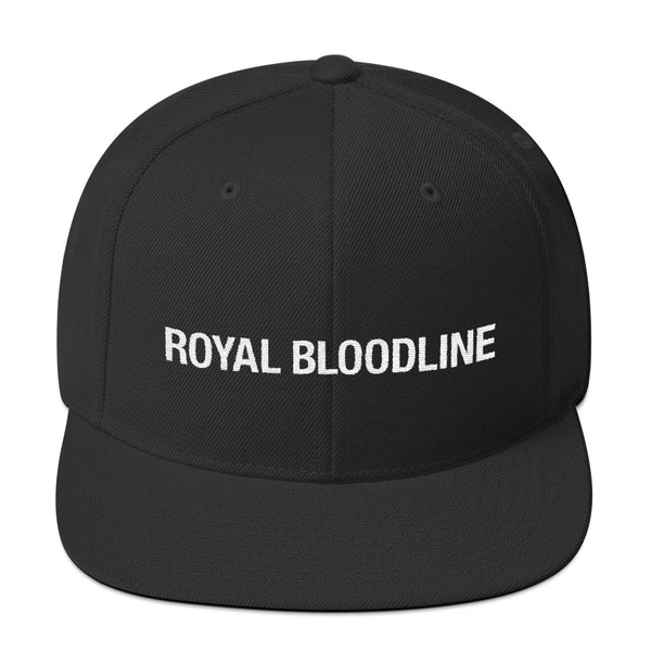 White Royal Bloodline Snapback Hat