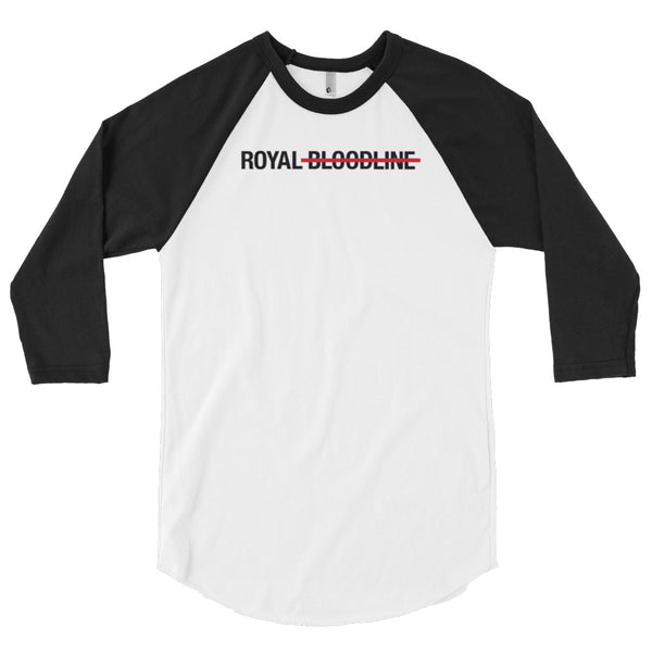 Royal Bloodline 3/4 sleeve raglan shirt
