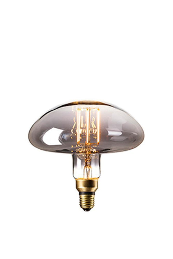 Retrobulbs  Λαμπτήρας LED Filament 6W 180lm E27 Titanium Dimmable CALGARY 425944 Διακοσμητικοί