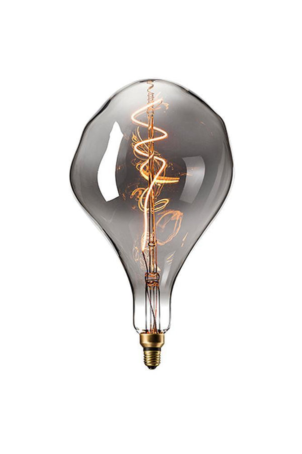 Retrobulbs Λαμπτήρας LED Filament 230V 6W 90lm E27 Titanium Dimmable ORGANIC 425904 Διακοσμητικοί