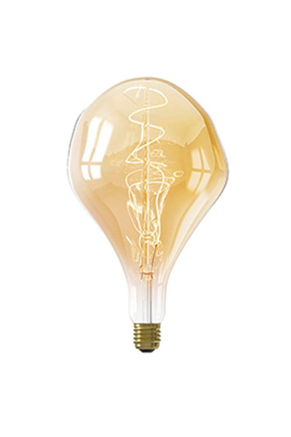 Retrobulbs.gr Λαμπτήρας LED Filament 230V 6W 300lm E27 Gold Dimmable ORGANIC 425902 Διακοσμητικοί
