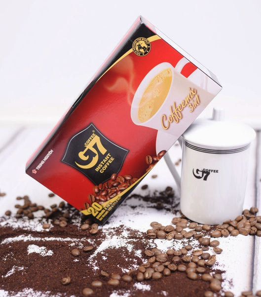 G7 Instant coffee 3in1 - 20 servings