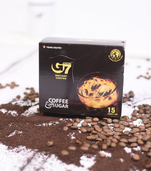 G7 Instant coffee 2in1 15 servings