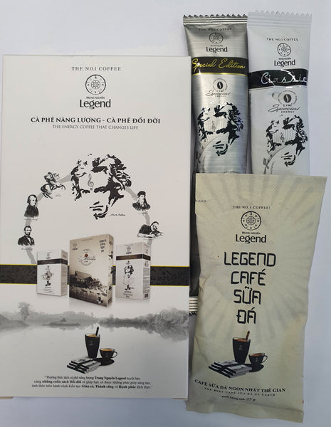 Legend Instant Coffee Set 3 pcs