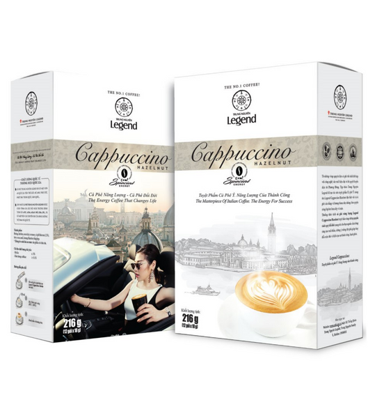 Legend Cappucino Hazelnut ( 12 portions)