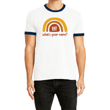 Load image into Gallery viewer, What's Your Name? Adult Ringer Tee