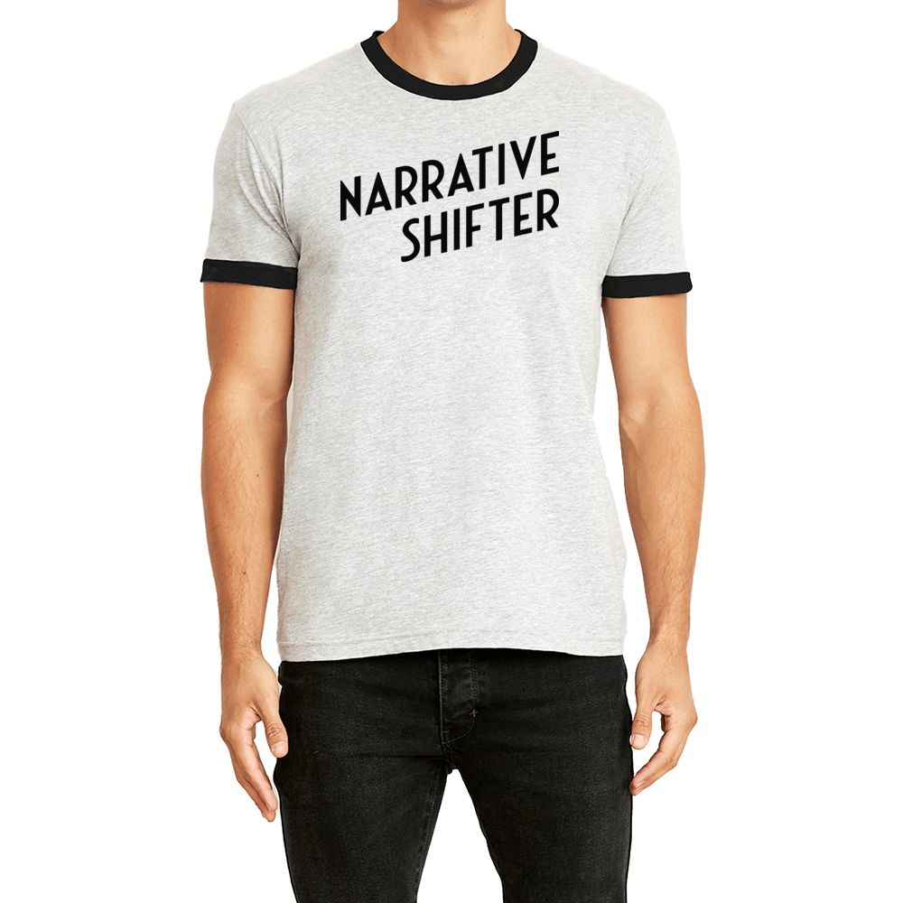 Narrative Shifter Ringer Tee