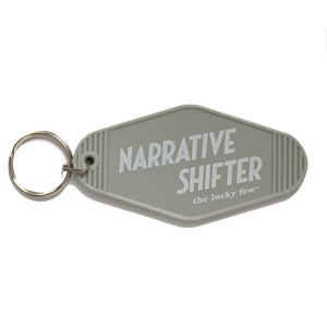 Narrative Shifter Keychain | Hotel-Motel Style