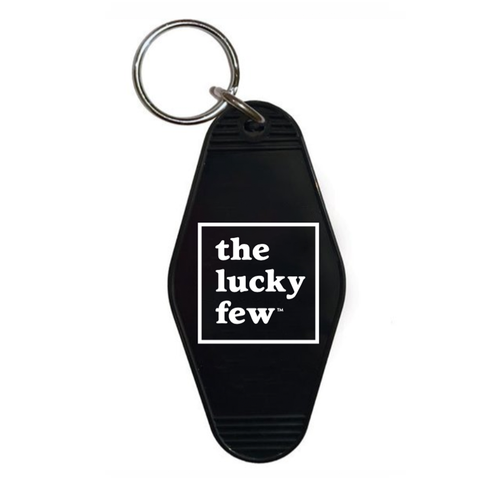 The Lucky Few Keychain | Hotel-Motel Style | Black