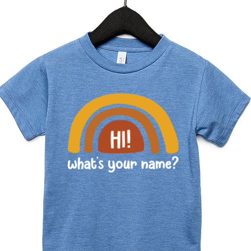 What's Your Name? Toddler Tee