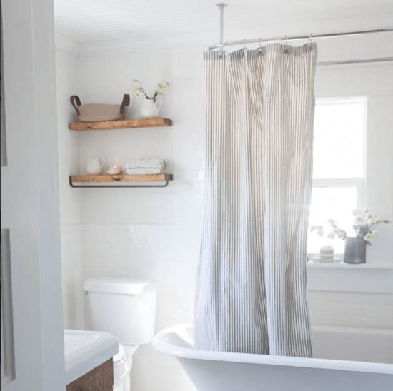 Farmhouse Bathroom Refresh