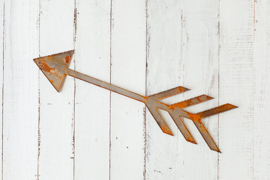 Rusted Arrow Wall Hanging