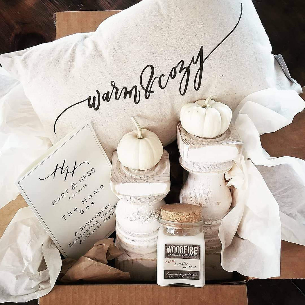 Hart & Hess Subscription Box Standard The Cozy Box- October, 2019 SBOCT1