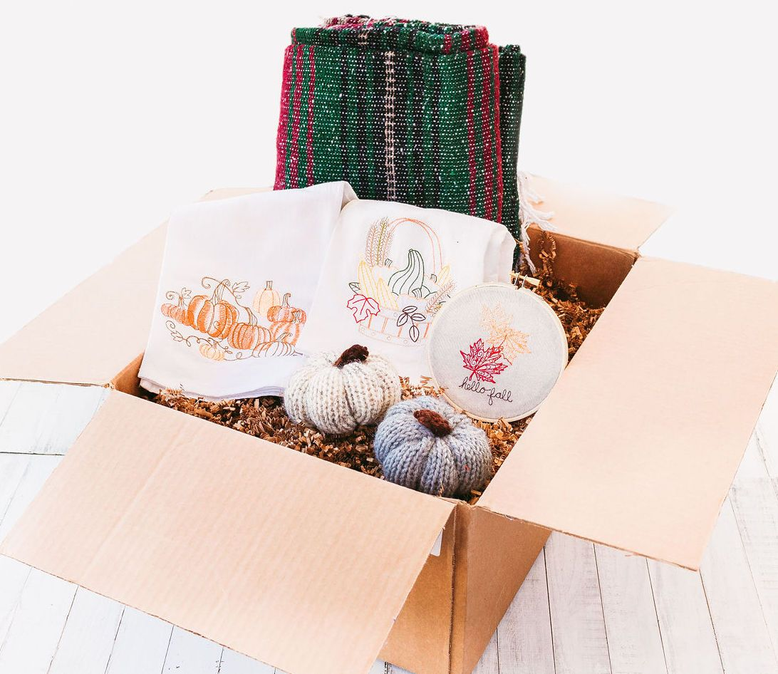 "Hart & Hess Subscription Box The ""Autumn Harvest"" Home Box, October 2020"
