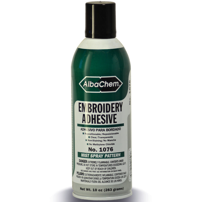 AlbaChem 1076 Embroidery Adhesive Spray