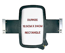 "Durkee Janome MB-4 Compatible Hoop: 12.5cm x 24cm (5""x9"") Rect. - 360 Sewing Field"