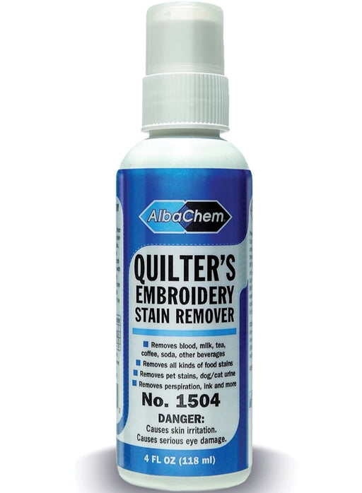 AlbaChem 1504 Quilter's Embroidery Stain Remover
