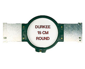 "Durkee Janome MB-4 Compatible Hoop: 15cm (5.5"") Round - 360 Sewing Field"
