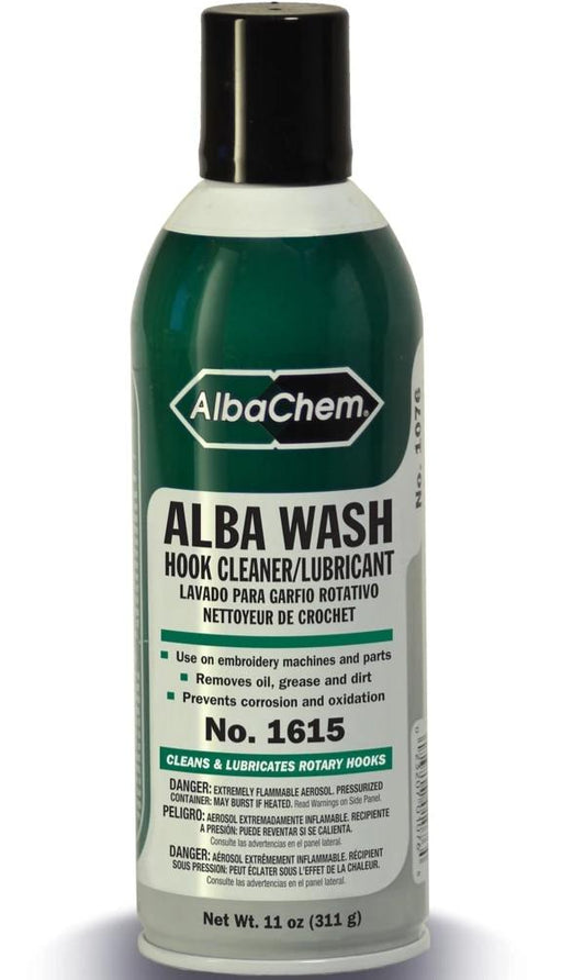 Alba Wash Hook Wash Cleaner and Lubricant