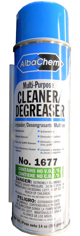AlbaChem 1677 Multi-Purpose Dry Cleaner Degreaser