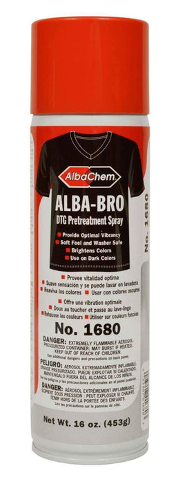 AlbaChem 1680 ALBA-BRO DTG Pretreatment Spray