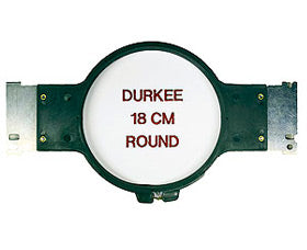 "Durkee Janome MB-4 Compatible Hoop: 18cm (6.5"") Round - 360 Sewing Field"