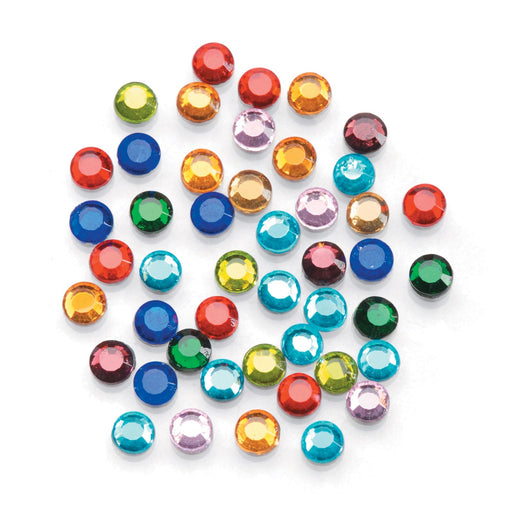 Hot-Fix Glass Rhinestone Embellishments - 5mm 400pc Assortment