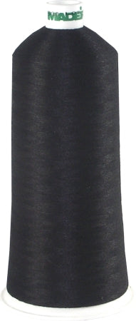 Madeira Bobbin Thread - Burmilon 200 Poly  -  Black
