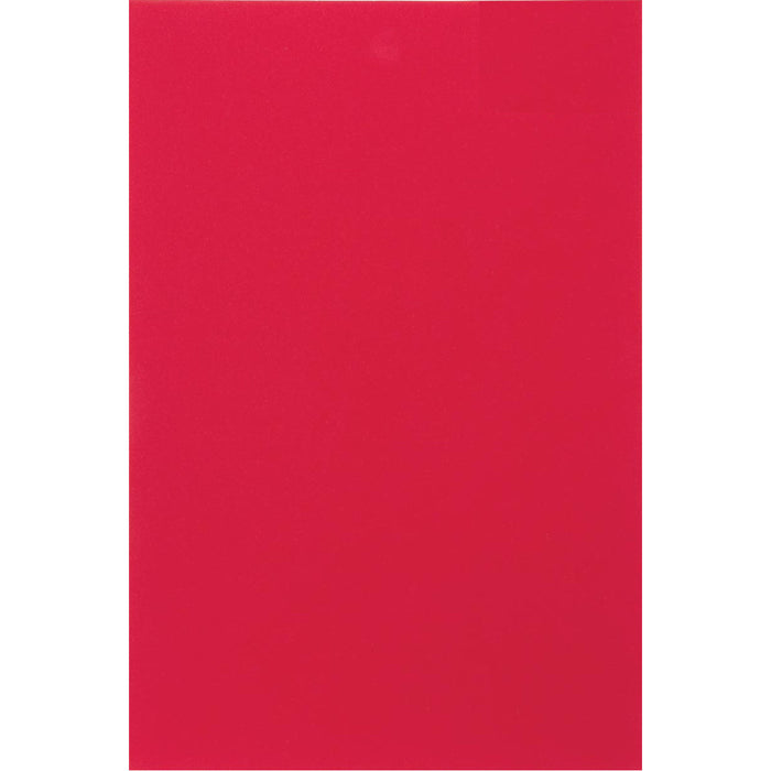 "PuffyStitch Embroidery Foam 2mm Sticky Back 9"" x 12"" - Red"