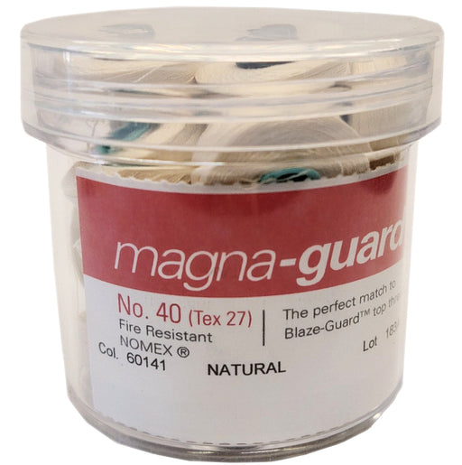 Magna-Guard Fire-Resistant Embroidery Bobbins - Style L Natural