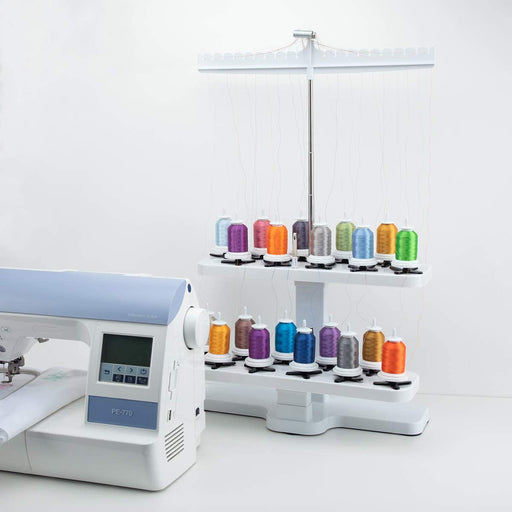 20 Spool Embroidery Thread Stand