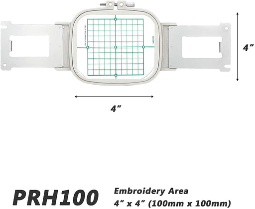 "PRH100 (EPF 100) 4"" x 4"" (100x100mm) Embroidery Hoop"